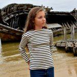 Marinière enfant coton biologique France